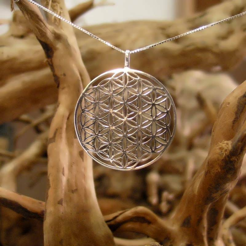 Flower Of Life Pendant Silver