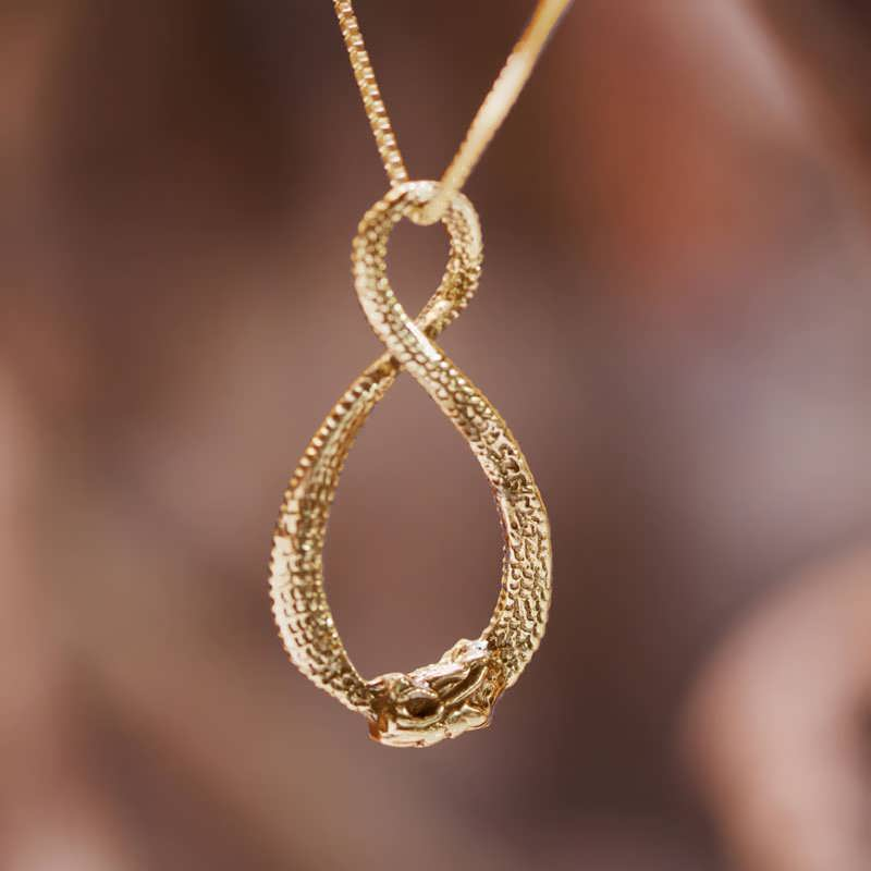 What Is The Meaning Of Infinity Ring Necklace