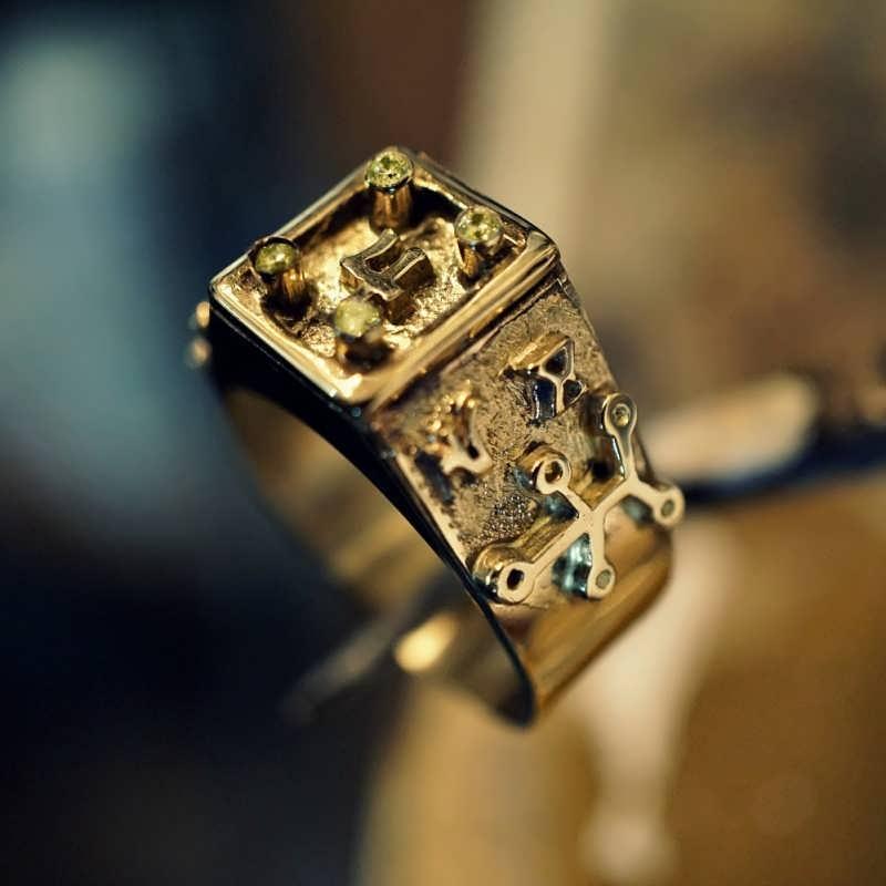 Jupiter Spica Talisman                             Ring Gold