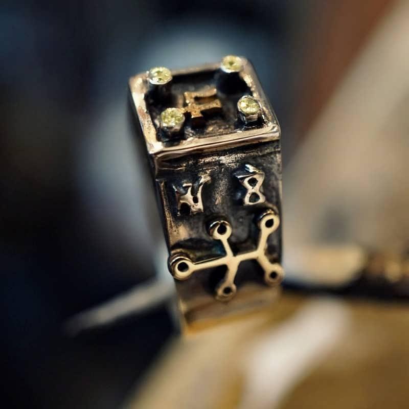 Jupiter Spica Talisman                             Ring Silver Gold