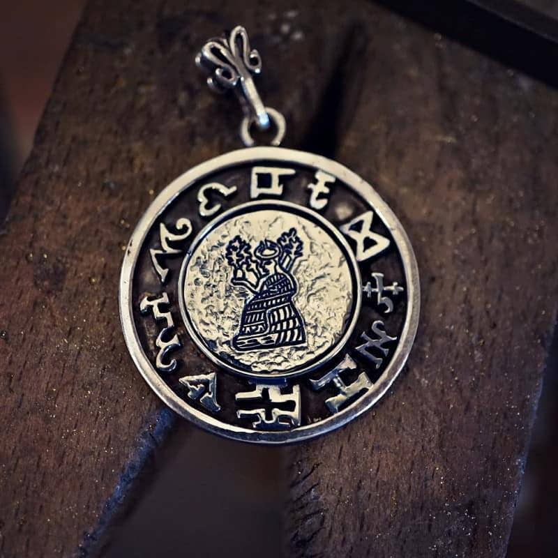 Jupiter Spica Talisman                             Pendant Silver