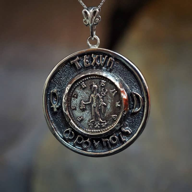 Mercury Practical Thinking Talisman Silver