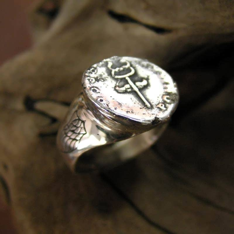 Mercury Practical Wisdom Ring Silver Limited Edition