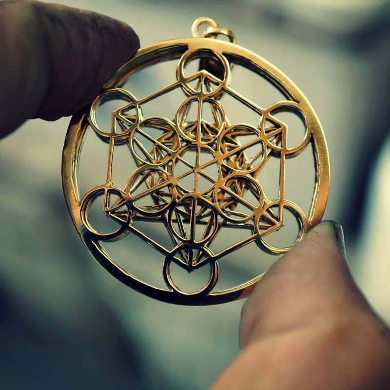 Metatron Cube Gold