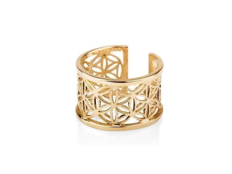 Gold Ring Patern