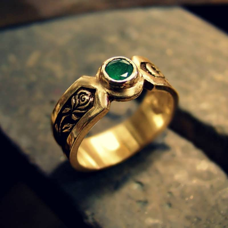 Gold Philosopher's Ring