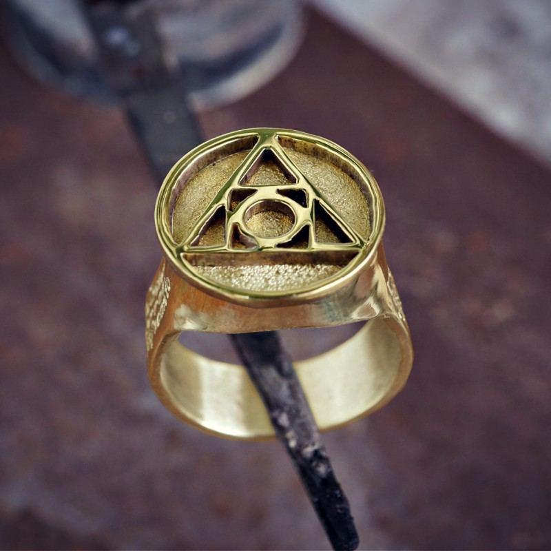 Philosopher's                                 Stone Ring Gold