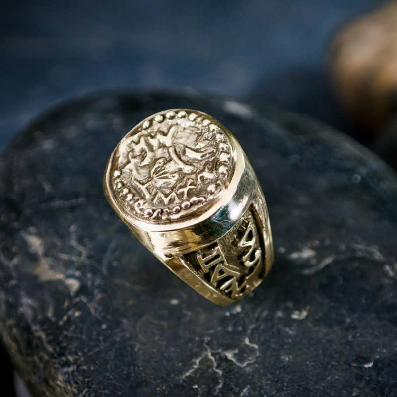 Gold Rebels Ring
