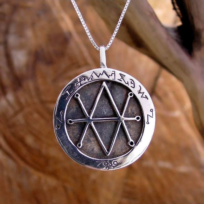 Saturn Talisman Silver