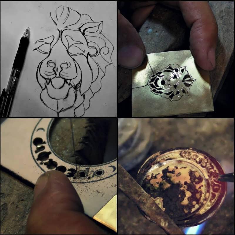 Creating the Moon Mansion Talisman