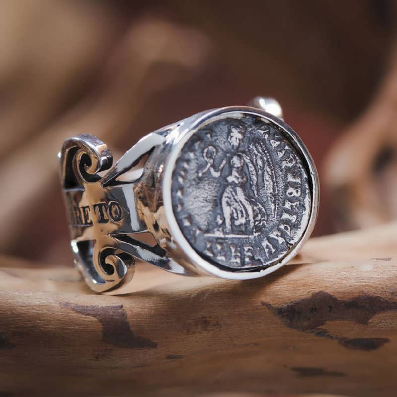 victory ring silver