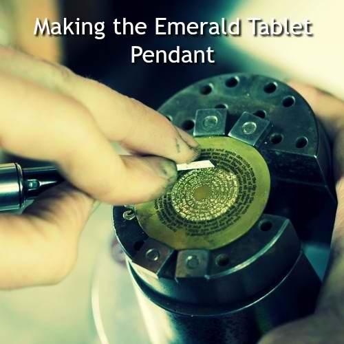 Emerald Tablet Bracelet