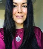 Daria Wearing Ka Gold Jewelry Design