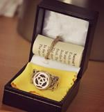 Rathna Wearing Ka Gold Jewelry Design