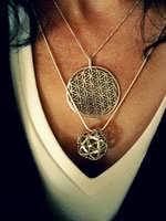 Alexandra Wearing Ka Gold Jewelry Design