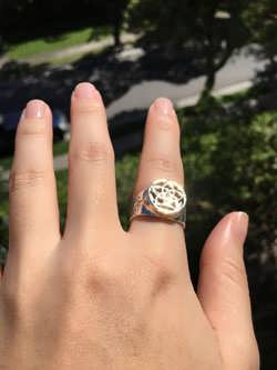 43cc1ba3d91 Pentalpha (Venus) Ring Silver and Gold ( Limited Edition )
