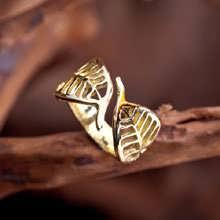 Buddhi Ring Gold