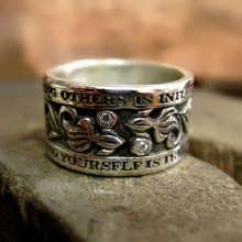 I Wisdom Ring Silver