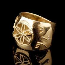 Jerusalem Ring Gold