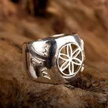 Jerusalem Ring Silver