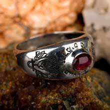 Lotus Ring Silver