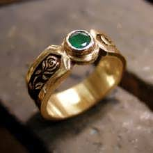 The Philosopher's Ring Gold