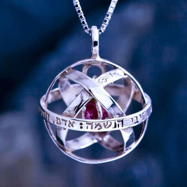 Genesa Crystal Silver With Crystal