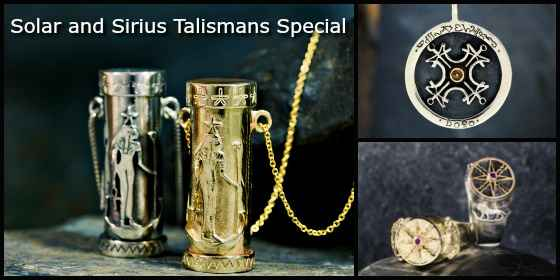 Sirius & Solar Talismans