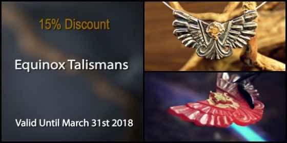 Equinox Talismans