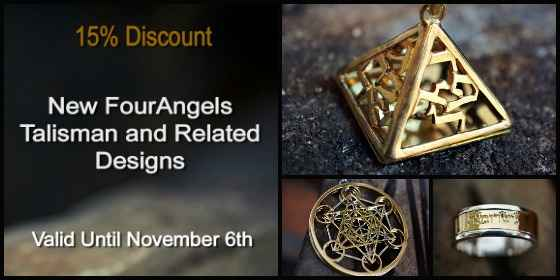 New Four Angels Talisman & Related Designs