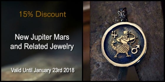 New Jupiter Mars Talisman