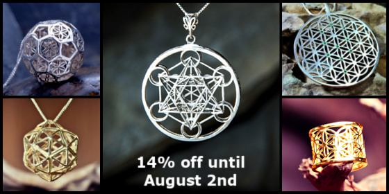 Metatron's Cube and Flower of Life