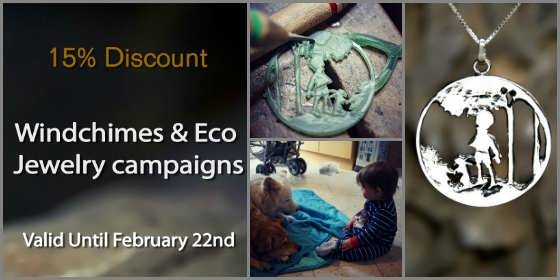 Windchimes & Eco Jewelry Campaigns