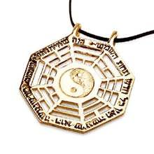 I Ching Pendant Gold