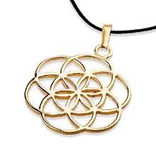 Seed of life in 14K gold