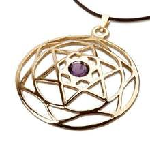 Mandala Stella di Davide - oro