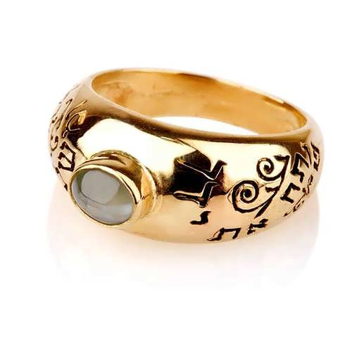 Cat's Eye Abundance Ring Gold
