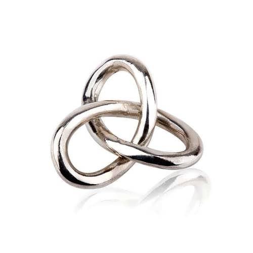 Gordischer Knoten Medium, Silber