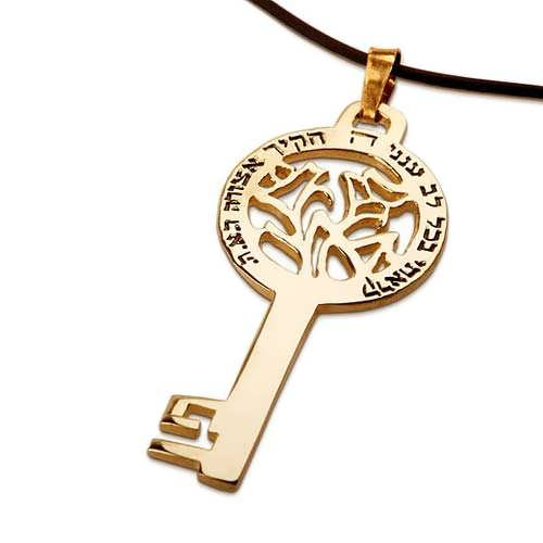 Road Talisman Key Gold
