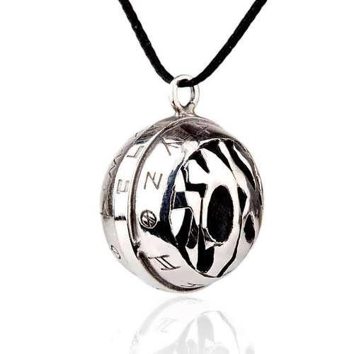 silver God's word pendant