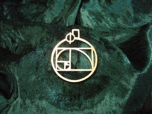 Phi jewelry pendant