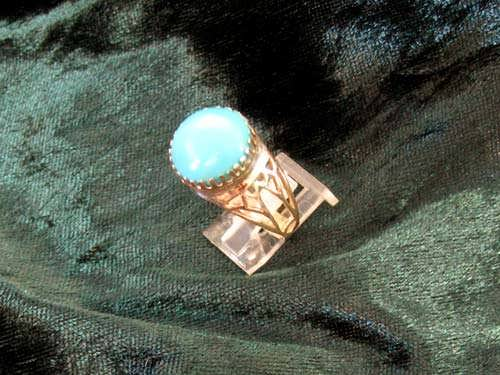 Egyptian lotus ring