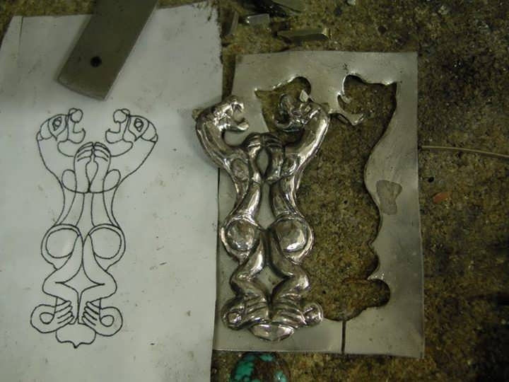 Persian Royalty Symbol Pendant