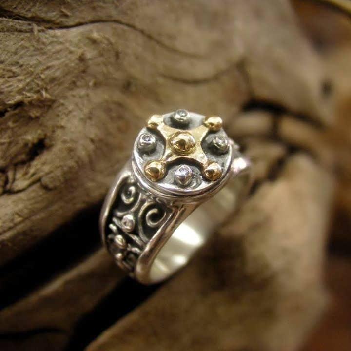 Mayan Venus Talisman Ring David Weitzman Cosmic Jewelry Blog