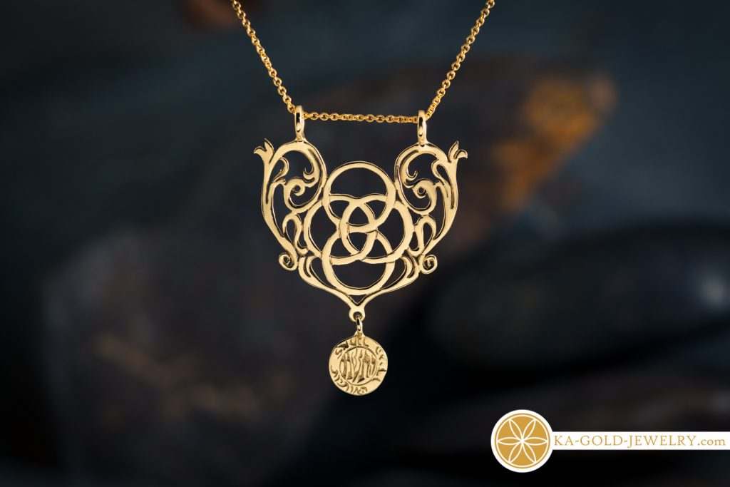 Mother Earth pendant - Eco jewelry
