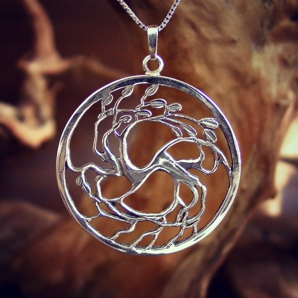 Tree of Love Silver Pendant