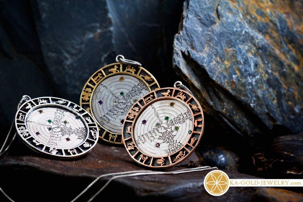 Ficino Talisman - Real Gold Jewelry